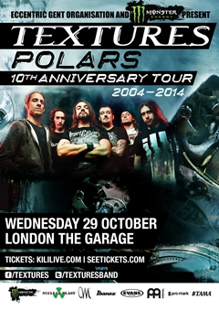 Textures - 'Polars' 10th Anniversary Tour
